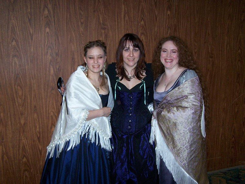 Amara, Zhareen, and Andra