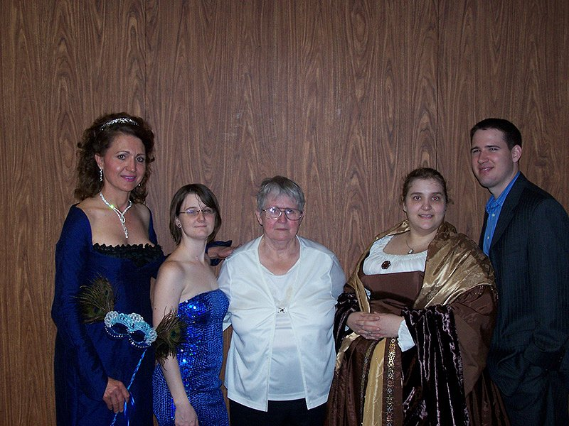 Arisaema, Yelenia, Ari's mom, Adolla, and Jaimes