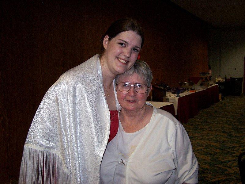 Muirenn and Ari's mom