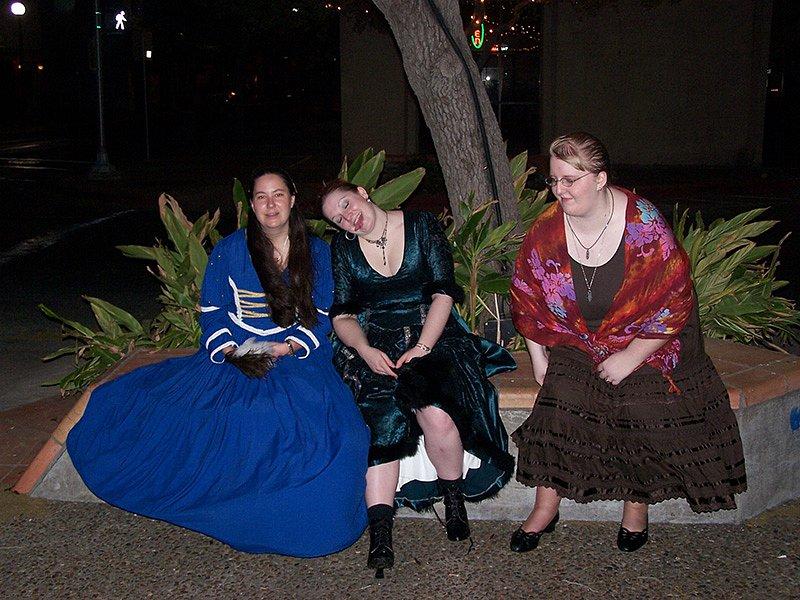 Cassie, Laithean, and Naomi