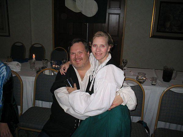 Riley and his wife