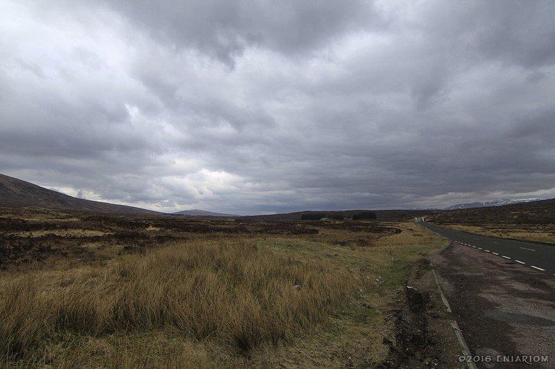 Highland driving